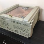 Vintage Wood Mine Crate Cigar humidor