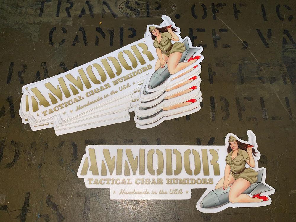 Ammodor Logo Decal
