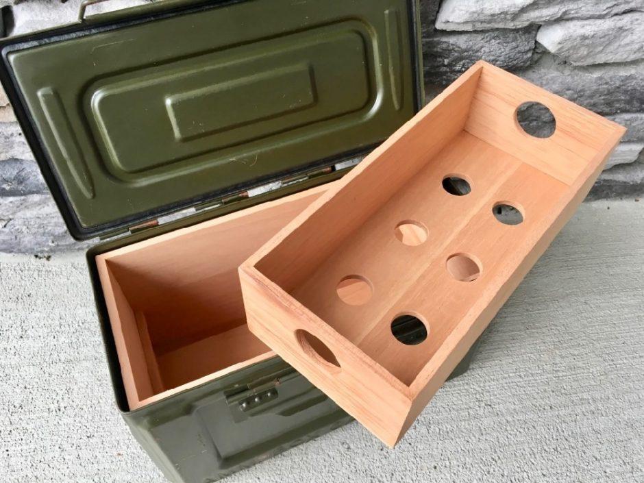 Ammodor Tactical Humidors | Ammo Can Cigar Humidors | The 50